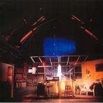 CALLER stage set