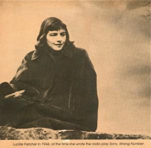 Lucille Fletcher, amber