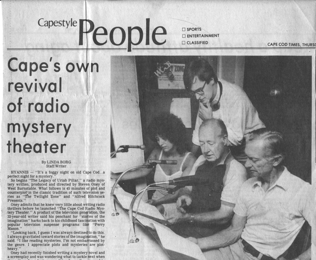 Cape's Own Revival of Radio Mystery Theater
